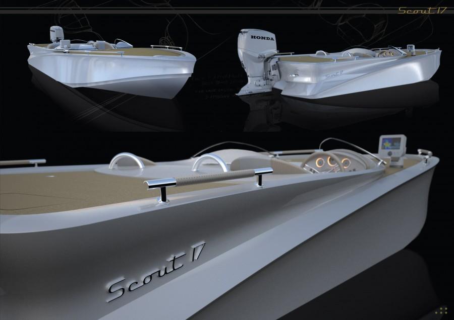 Scout 17 2014 foto gallery lavori nuovi for Yacht design milano